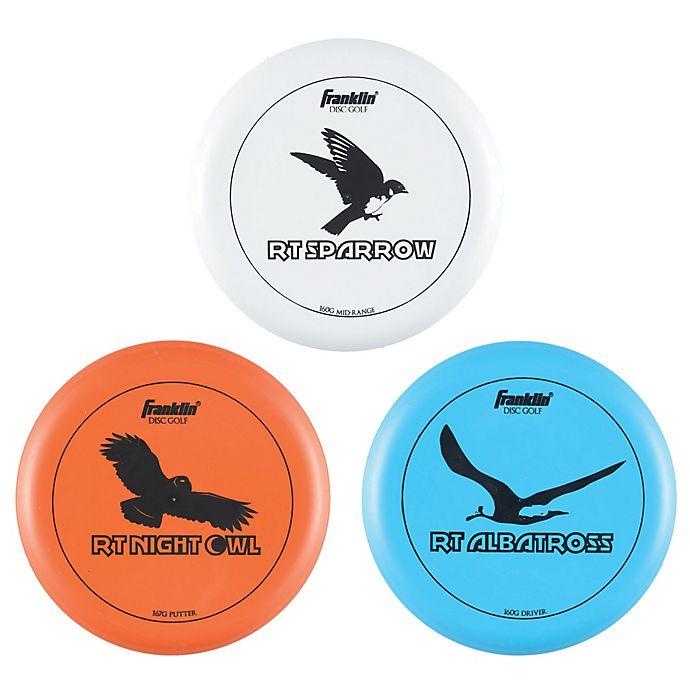 Alternate image 1 for Franklin® Sports Golf Discs (Set of 3)