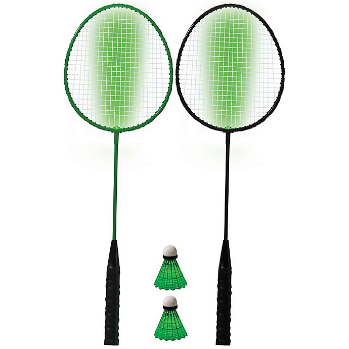 Alternate image 1 for Franklin® Sports 2-Player LED Badminton Set