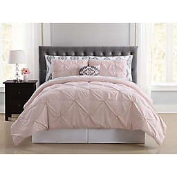 Truly Soft Pueblo Pleated Twin XL Comforter Set