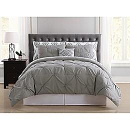 Truly Soft Pueblo Pleated Comforter Set