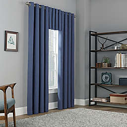 Copley Square Grommet Top 100% Blackout Window Curtain Panel and Valance