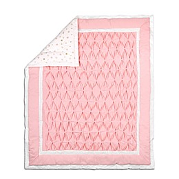 The Peanutshell™ Quilt/Coverlet in Light Coral