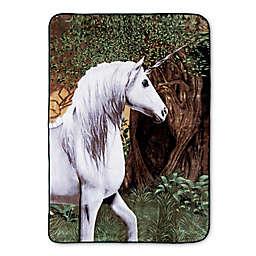 Hi Pile Oversized Unicorn Throw Blanket
