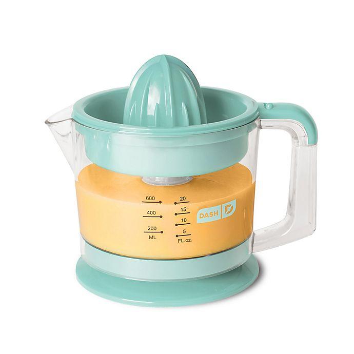 Alternate image 1 for Dash® Citrus Juicer in Aqua