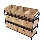 Bintopia 3-Tier Storage Organizer in Tan