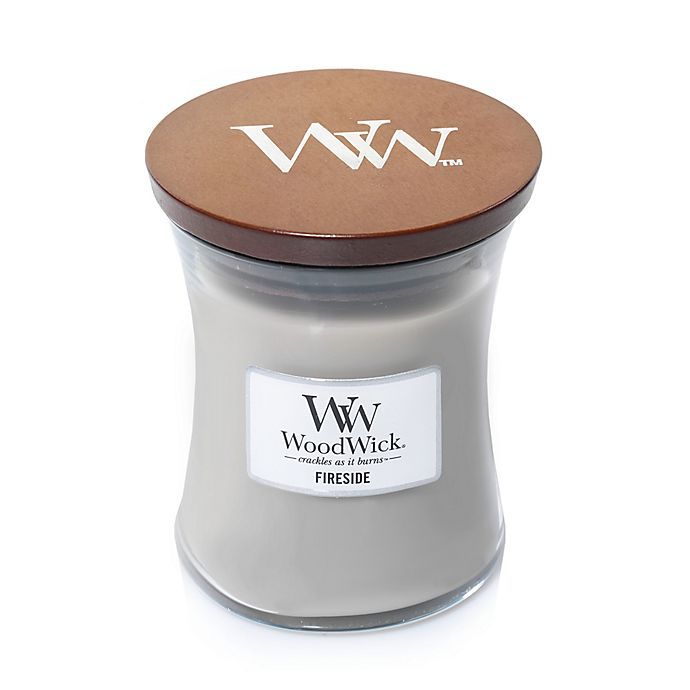 Alternate image 1 for WoodWick® Fireside 10-Ounce Jar Candle