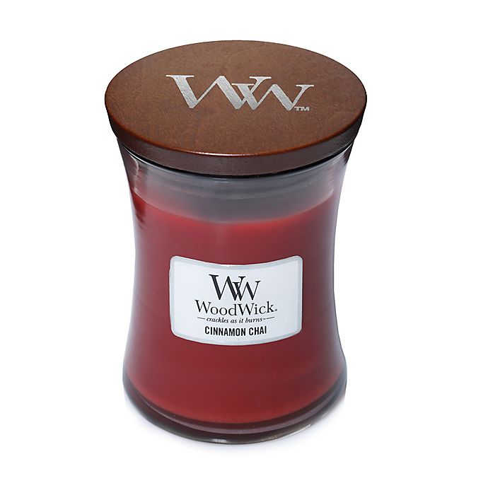 Alternate image 1 for WoodWick® Cinnamon Chai 10 oz. Jar Candle