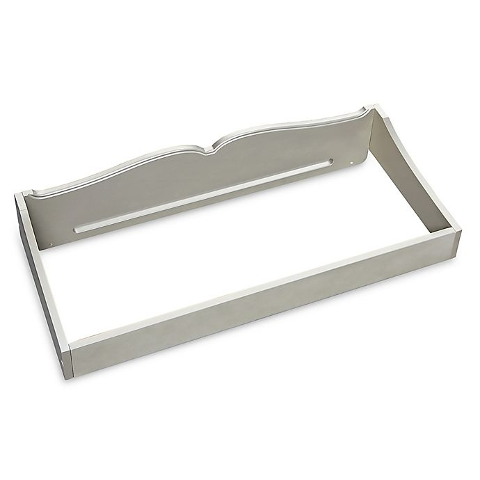 Alternate image 1 for BassettBaby® PREMIER Seraphina Changing Gallery Rail in Shimmer