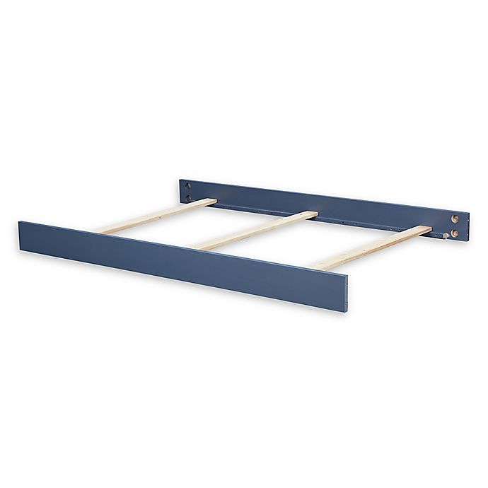 Alternate image 1 for Bassettbaby® Premier Emerson Full Size Bed Rails in Indigo Blue