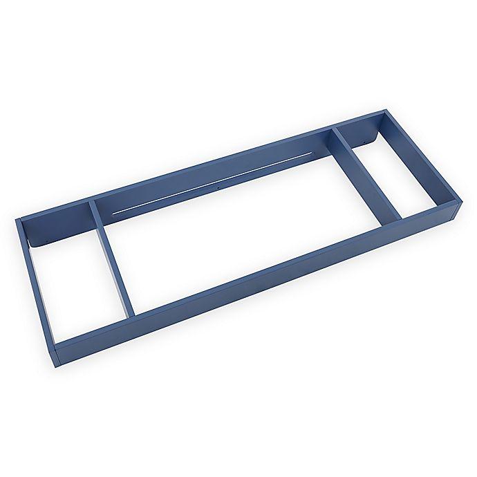Alternate image 1 for Bassettbaby® Premier Emerson Changing Gallery Rail in Indigo Blue
