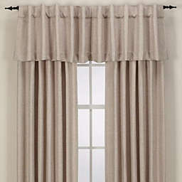 Reina Rod Pocket/Back Tab Window Curtain Panel and Valance