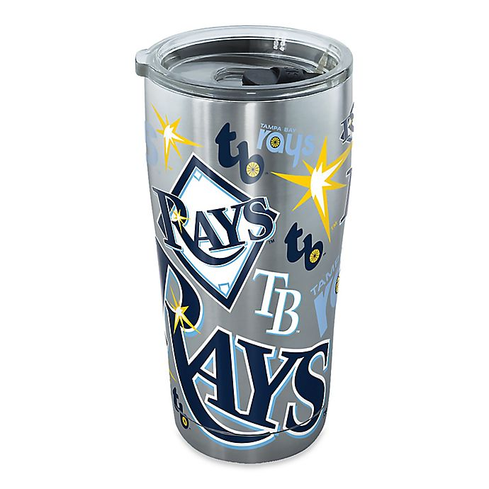 Alternate image 1 for Tervis® MLB Tampa Bay Lightning 20 oz. Stainless Steel Tumbler with Lid