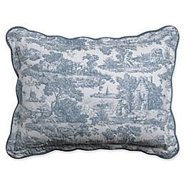 Nostalgia Home™ Calais Pillow Sham in Blue