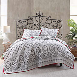 Bridgeton Voile Reversible Quilt in Grey
