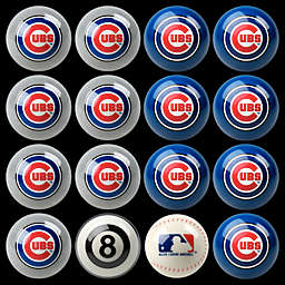 MLB Chicago Cubs Home vs. Away Billiard Ball Set