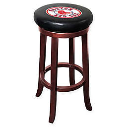 MLB Boston Red Sox Wooden Bar Stool