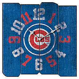 MLB Chicago Cubs Vintage Square Wall Clock