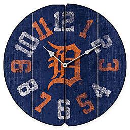 MLB Detroit Tigers Vintage Round Wall Clock