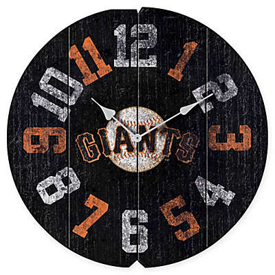 MLB San Francisco Giants Vintage Round Wall Clock