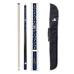MLB Detroit Tigers Billiard Cue Stick and Case Set