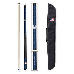 MLB New York Yankees Billiard Cue Stick and Case Set