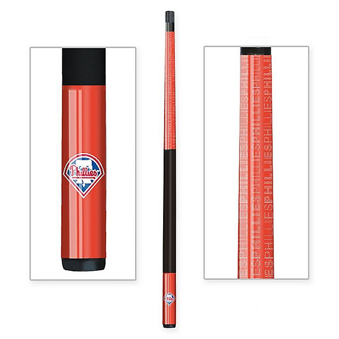Alternate image 1 for MLB Philadelphia Phillies Billiard Cue Stick