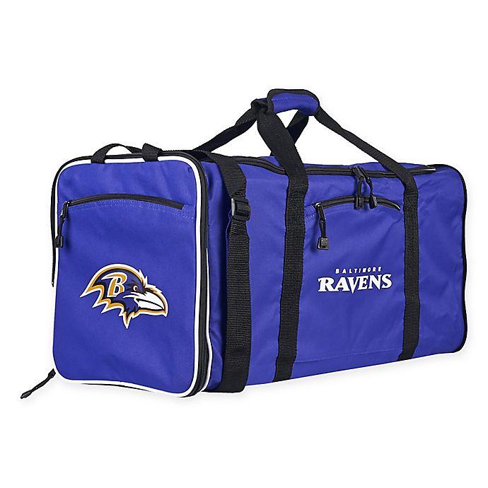 Nfl Baltimore Ravens 28 Inch Duffel Bag Bed Bath Beyond