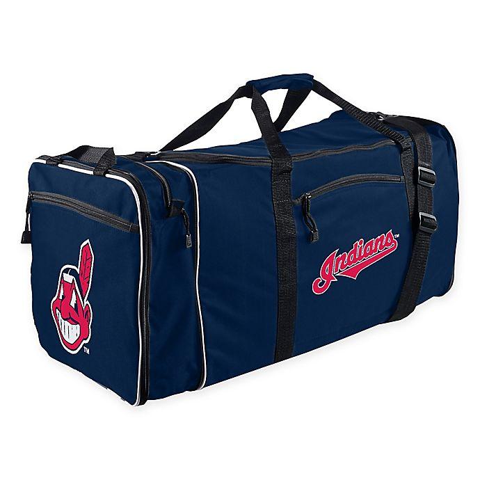 Alternate image 1 for MLB Cleveland Indians 28-Inch Duffel Bag