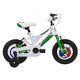 NBA Boston Celtics 12-Inch Kids Mountain Bike in White/Green