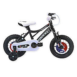 NBA Brooklyn Nets 12-Inch Kids Mountain Bike in Black