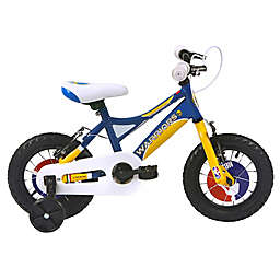NBA Golden State Warriors 12-Inch Kids Mountain Bike