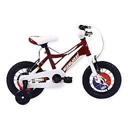 NBA Miami Heat 12-Inch Kids Mountain Bike in Red/White