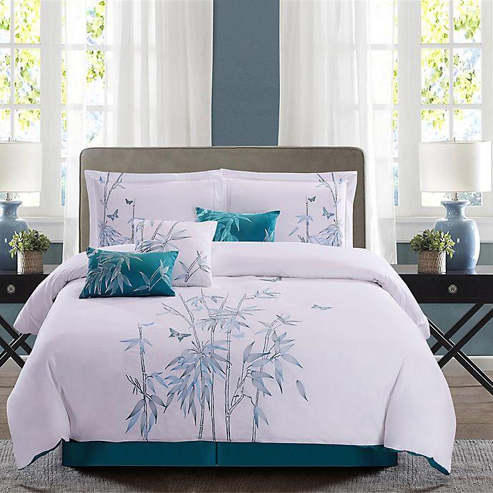 Panama Jack 174 Bamboo 7 Piece Reversible Comforter Set In
