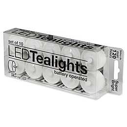 Everlast Flameless Tealights (Set of 10)