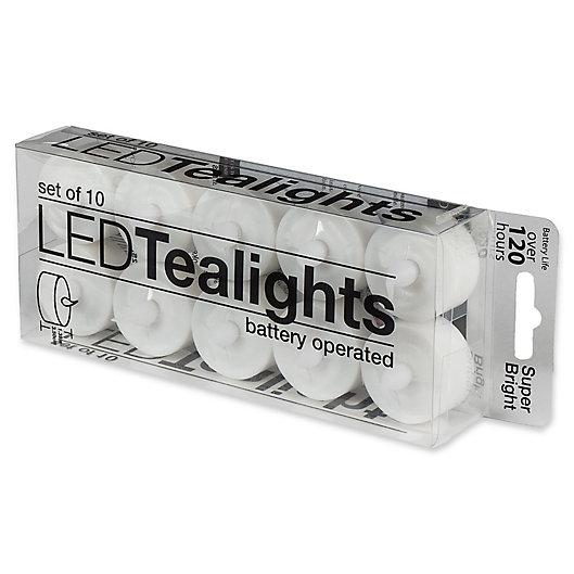 Alternate image 1 for Everlast Flameless Tealights (Set of 10)