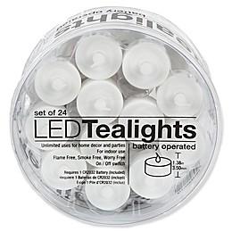 Everlasting Flameless Tealights (Set of 24)