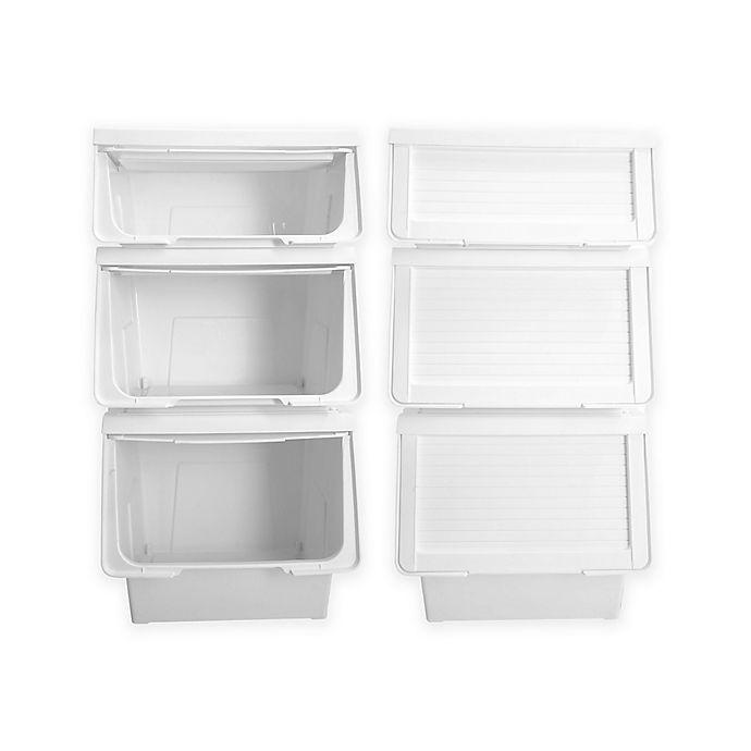 6 Piece Storage Bin Organizer Bed