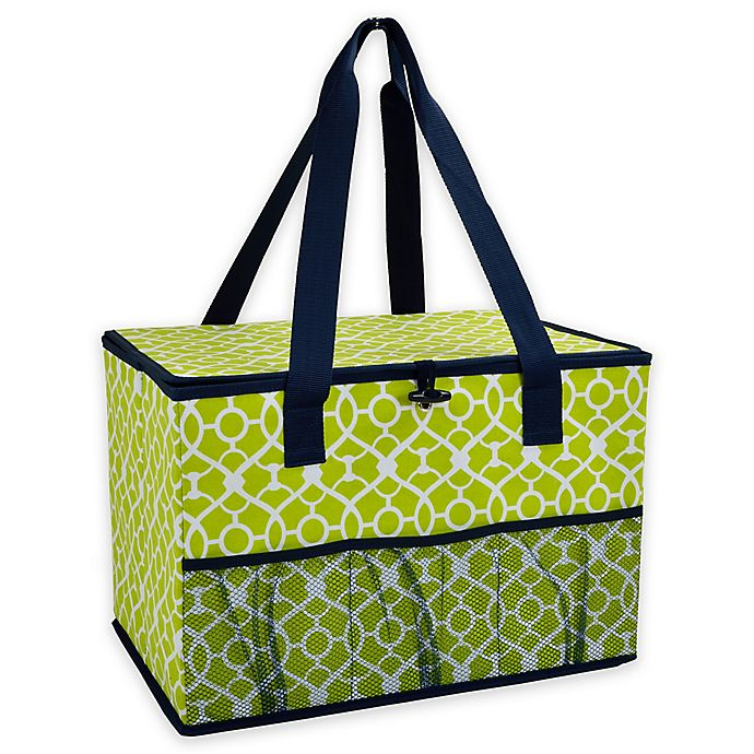 Alternate image 1 for Picnic at Ascot 12-Inch x 18-Inch Collapsible Storage Organizer in Green