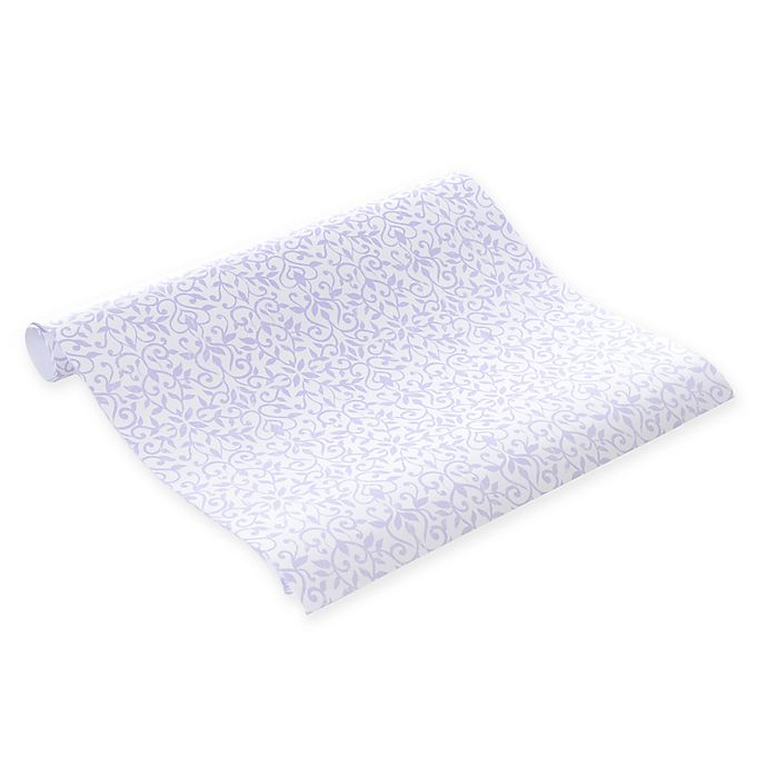 Con Tact Brand 8 Pack Lavender Floral Scented Drawer Liners Bed