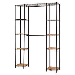 Closet Systems Storage Amp Organization Garment Racks And