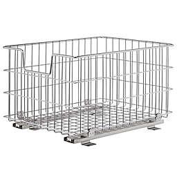 Trinity EcoStorage™ Wire Sliding Basket in Chrome