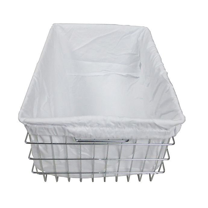 Alternate image 1 for Trinity EcoStorage™ Wire Basket with Cover in Silver