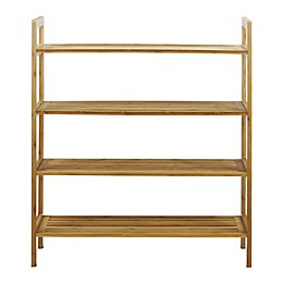 Oceanstar Design Bamboo Shoe Rack