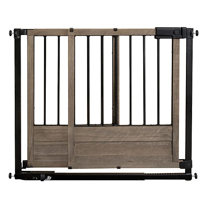 Alternate image 1 for HOMESAFE™ by Summer Infant® Rustic Home Safety Gate