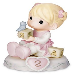 Precious Moments® Growing in Grace Age 2 Blonde Girl Figurine