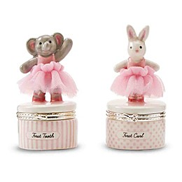Mud Pie® 2-Piece Ceramic Tutu Bunny \