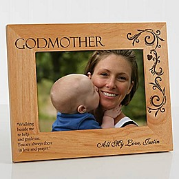Godparent 5-Inch x 7-Inch Picture Frame