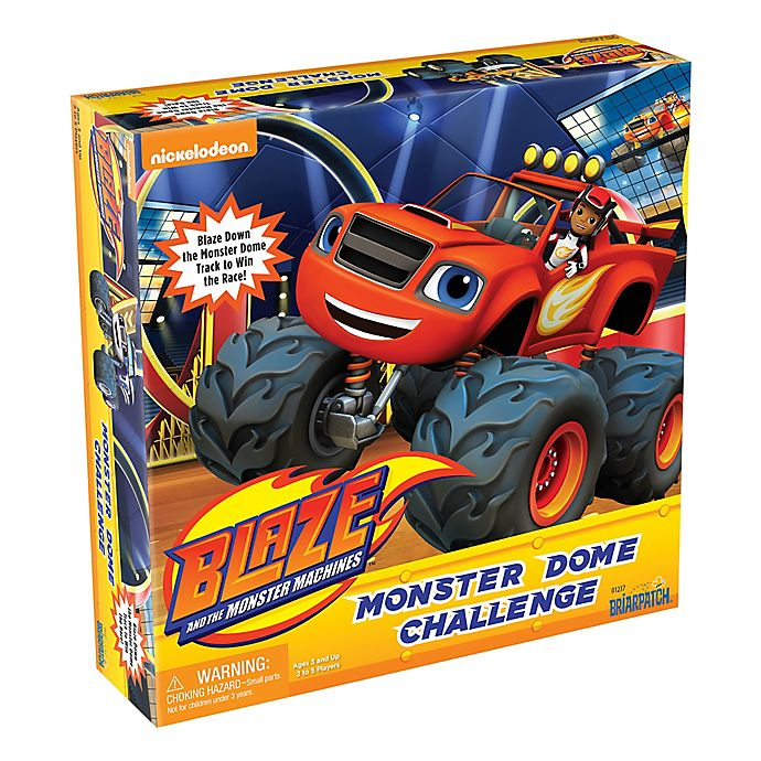 Alternate image 1 for Blaze and the Monster Machines Monster Dome Challenge Board Game