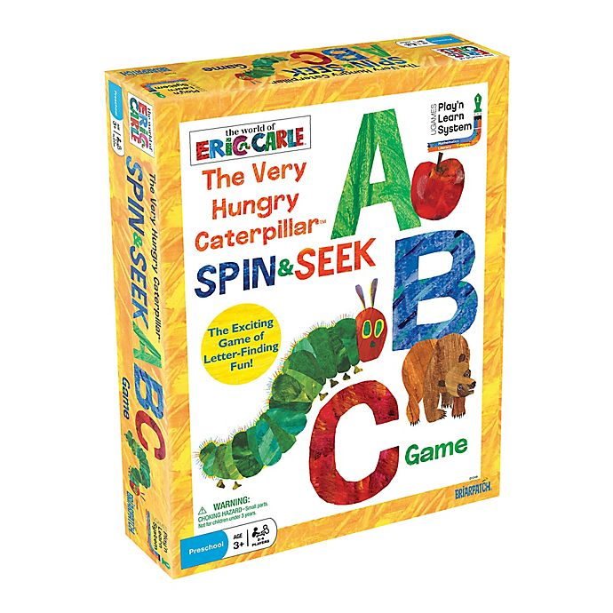 Alternate image 1 for The Very Hungry Caterpillar Spin & Seek ABC Game