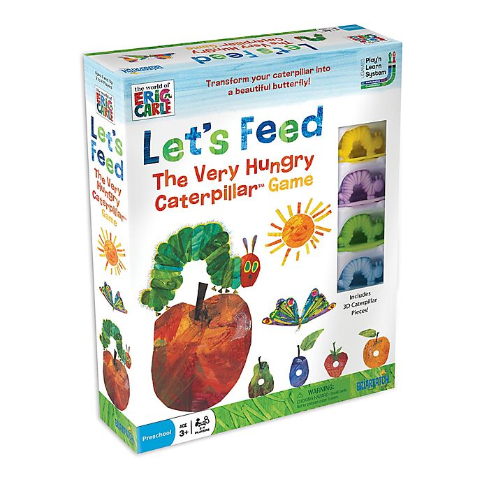 Alternate image 1 for Let's Feed the Very Hungry Caterpillar Board Game